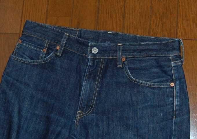 染め直して何年もはき続けたジーンズ
