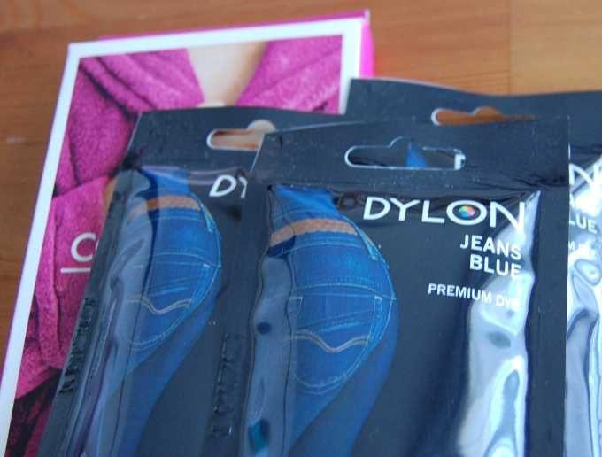DYLONのジーンズブルー染料